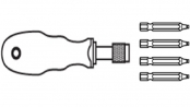 šroubováky NAREX s univerzální hlavicí