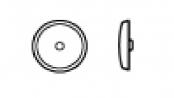 krytky vrutů s drážkou UniQuadrex