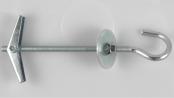 hmoždinka ocelová dutinová sklopná s háčkem